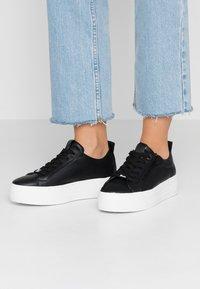 TOM TAILOR DENIM - Sneakers laag - black - 0