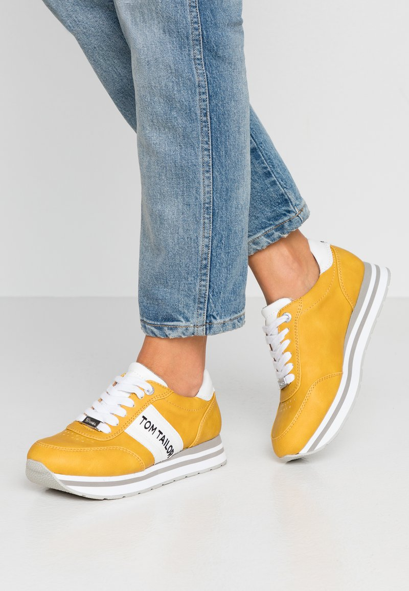 TOM TAILOR DENIM - Baskets basses - yellow