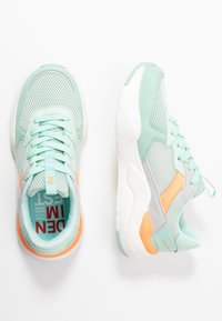 TOM TAILOR DENIM - Trainers - mint/coral - 3