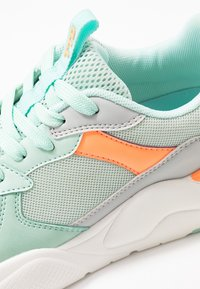 TOM TAILOR DENIM - Trainers - mint/coral - 2