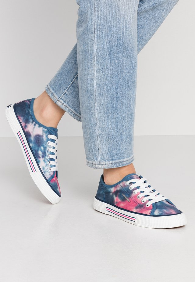 Trainers - navy/pink