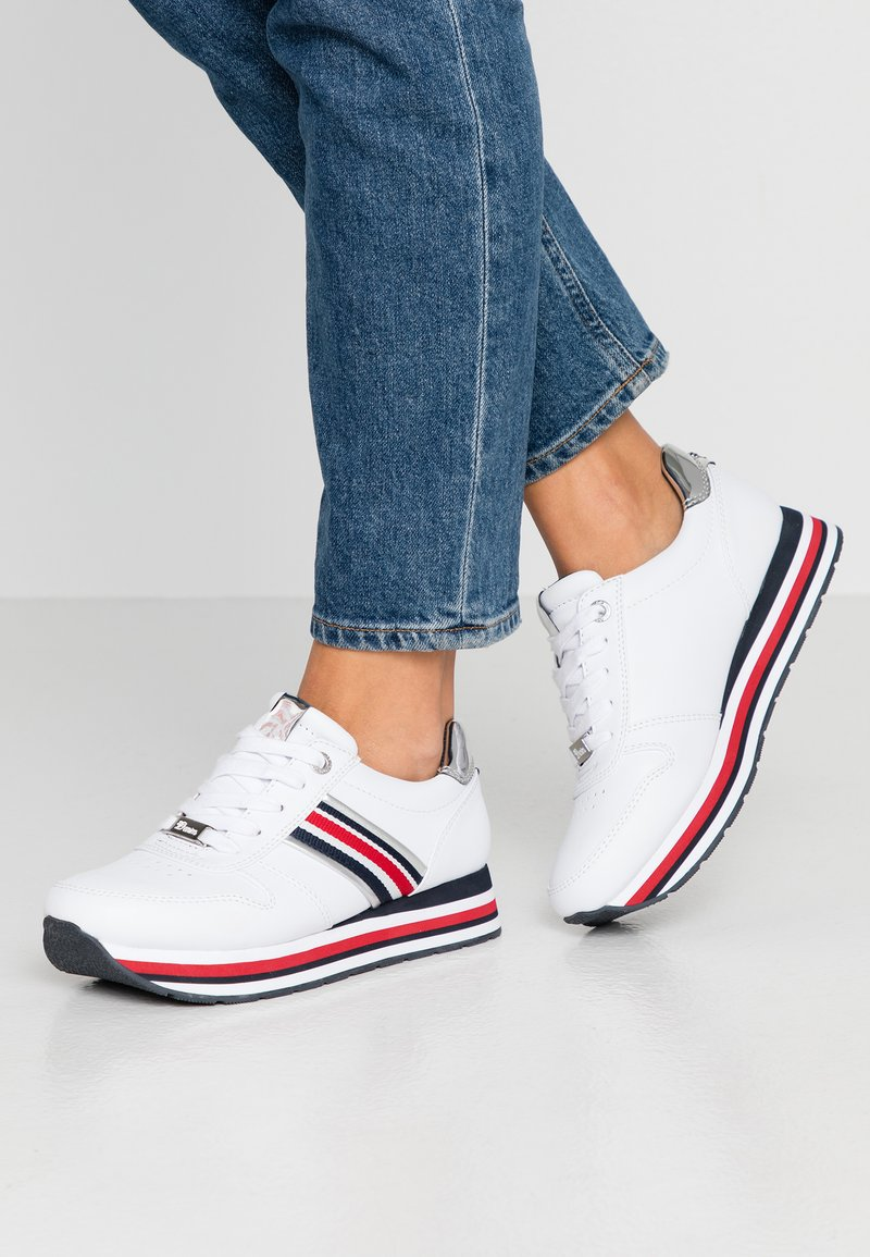 TOM TAILOR DENIM - Baskets basses - white