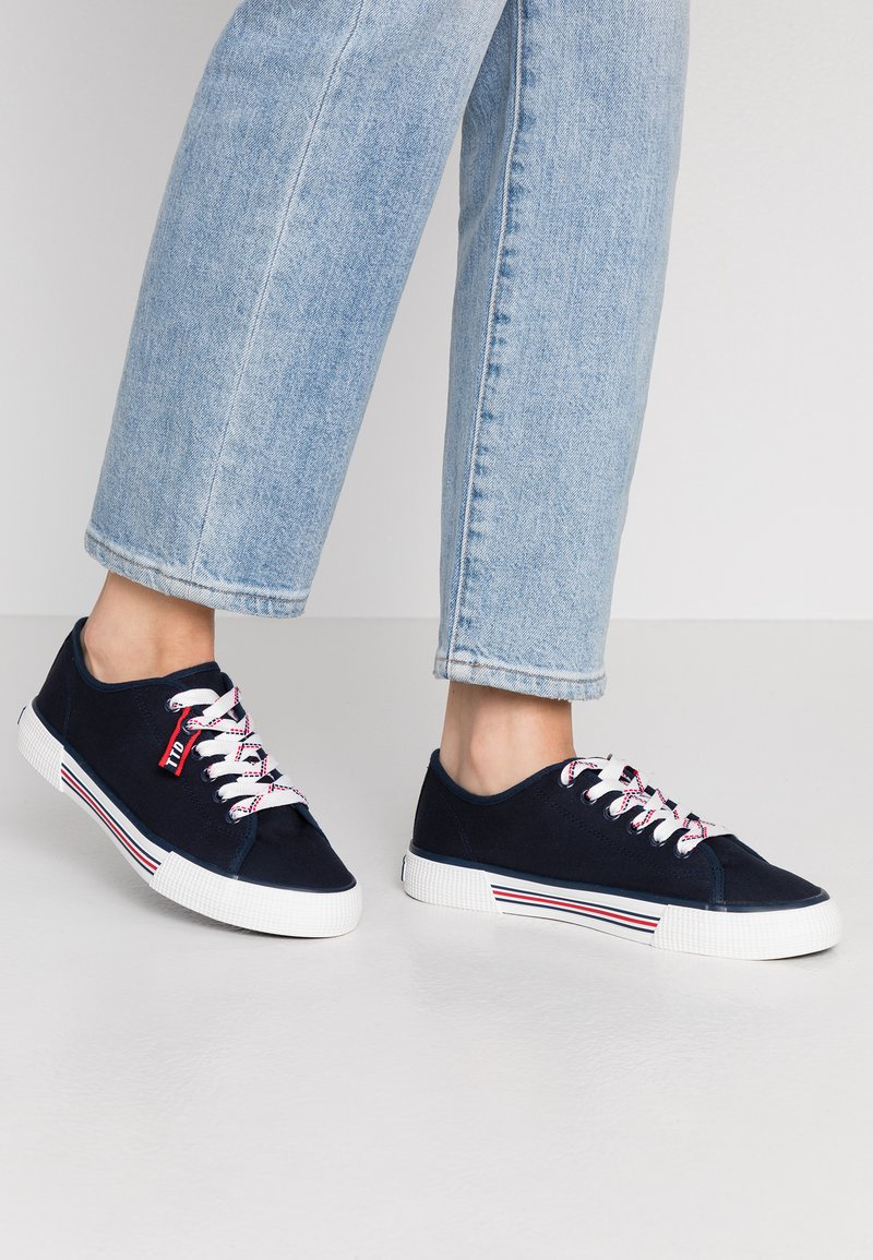 TOM TAILOR DENIM - 8095305 - Trainers - navy