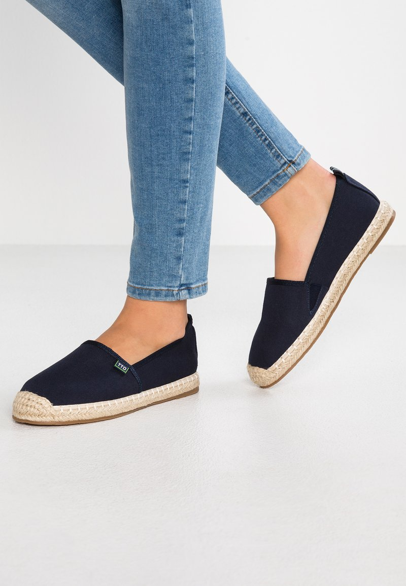 TOM TAILOR DENIM - Espadrilles - navy