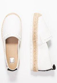 TOM TAILOR DENIM - Loafers - white - 3