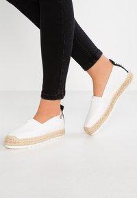 TOM TAILOR DENIM - Loafers - white - 0