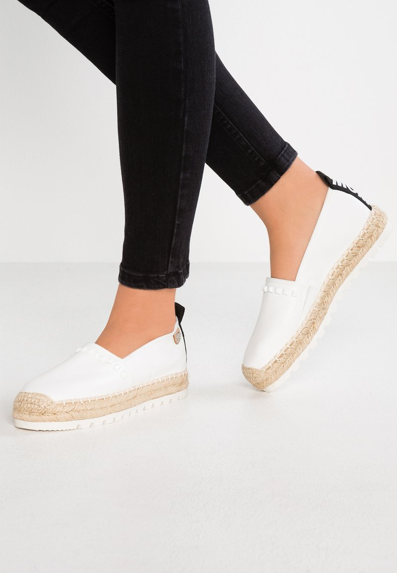 TOM TAILOR DENIM - Loafers - white