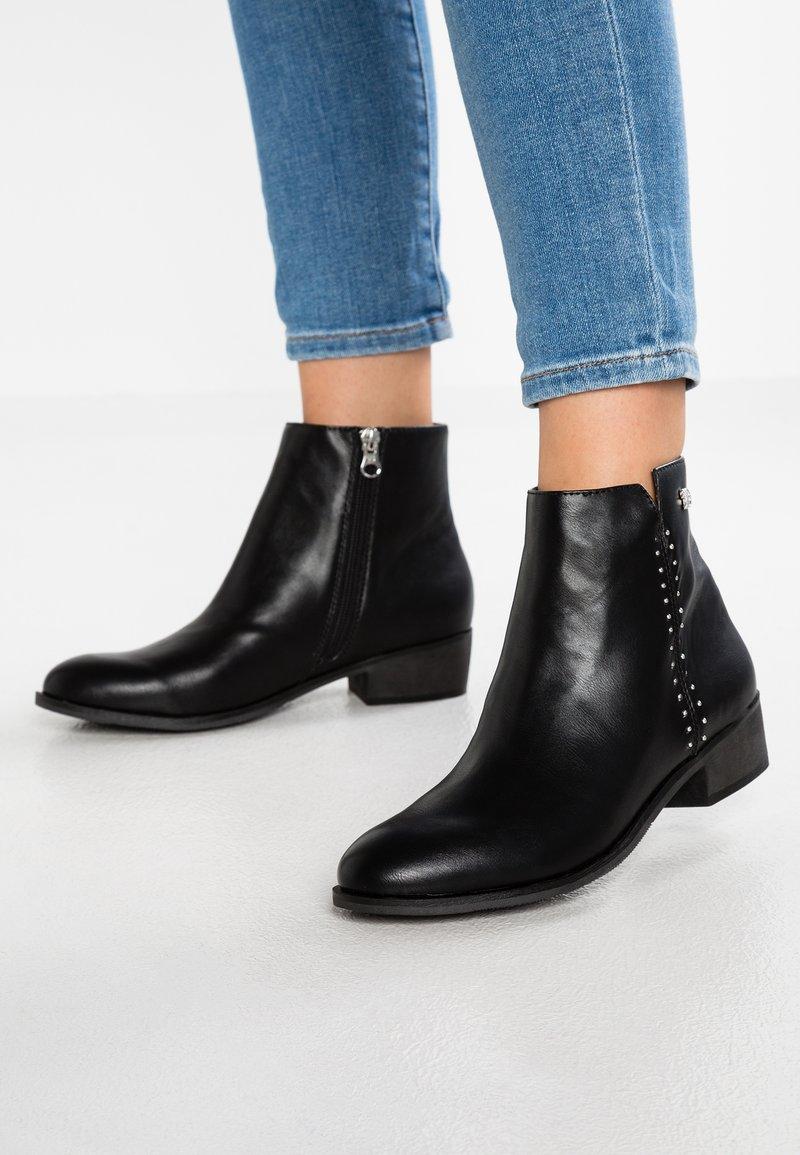 TOM TAILOR DENIM - Ankle boots - black