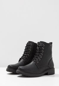 TOM TAILOR DENIM - Veterboots - black