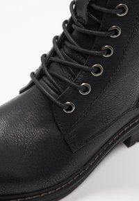 TOM TAILOR DENIM - Veterboots - black - 2
