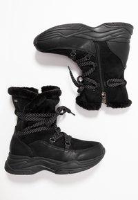 TOM TAILOR DENIM - Zimní obuv - black - 3