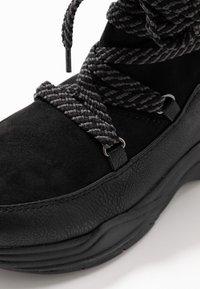 TOM TAILOR DENIM - Zimní obuv - black - 2