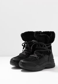 TOM TAILOR DENIM - Zimní obuv - black - 4