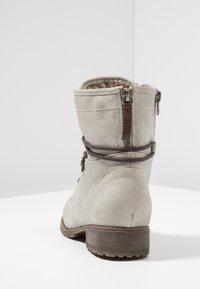 TOM TAILOR DENIM - Šněrovací kotníkové boty - offwhite - 5