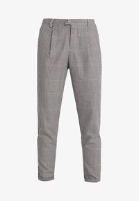 TOM TAILOR DENIM - CHECKED TAPERED PANTS - Kalhoty - sartorial check - 4