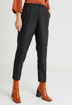 TAPERED PANTS ANKLE - Kalhoty - shale grey melange