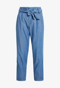 TOM TAILOR DENIM - PANTS - Pantaloni - mid stone wash denim - 4