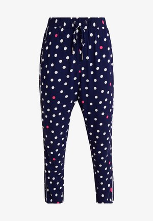 HAREMSPANTS - Pantaloni - blue/white