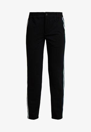 ATHLETIC TRACK PANTS - Kalhoty - deep black