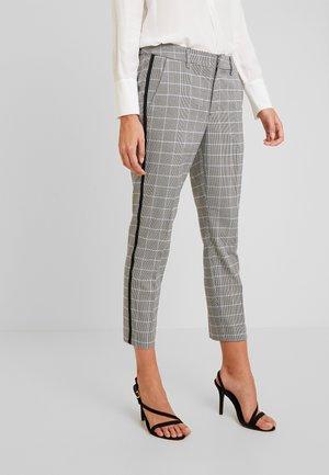 CIGARETTE PANTS - Pantaloni - grey/blue