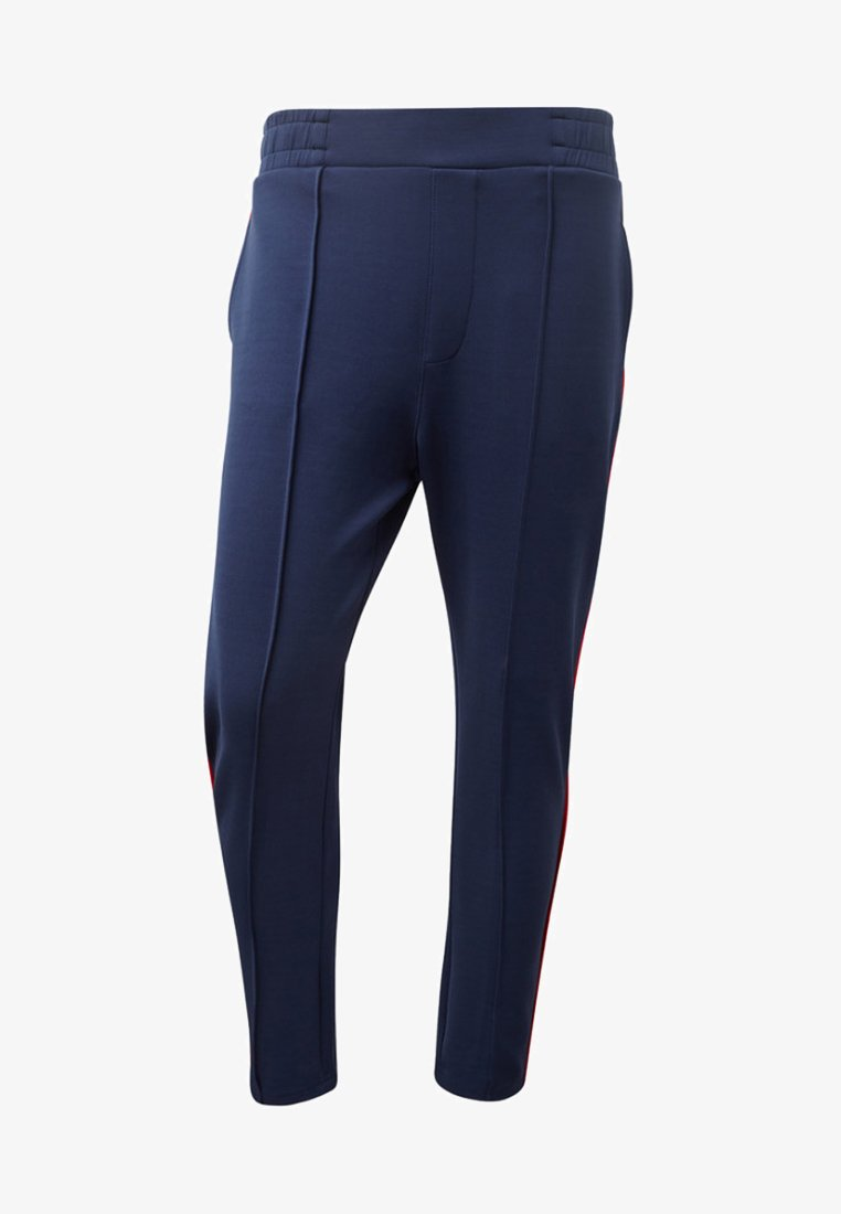 TOM TAILOR DENIM - MIT TAPE-DETAILS - Pantalon de survêtement - blue