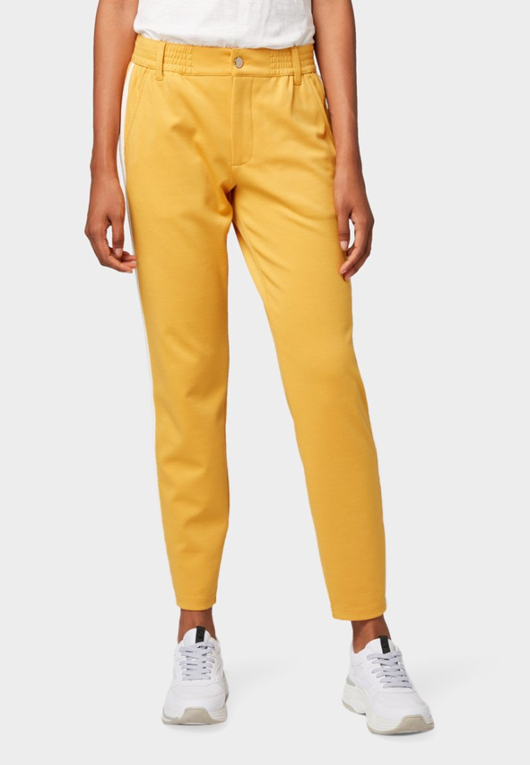 TOM TAILOR DENIM - Stoffhose - sunflower