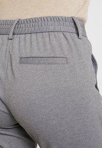 TOM TAILOR DENIM - KNITTED TRACK PANTS - Broek - mid grey melange - 3