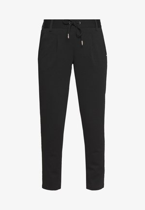 TRACK PANTS - Pantaloni - deep black