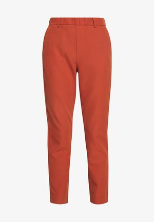 CIGARETTE PANTS - Pantalon classique - fox orange