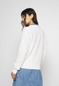 TOM TAILOR DENIM - BASIC CARDIGAN - Kardigan - gardenia white