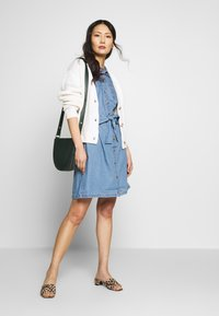 TOM TAILOR DENIM - BASIC CARDIGAN - Kardigan - gardenia white - 1