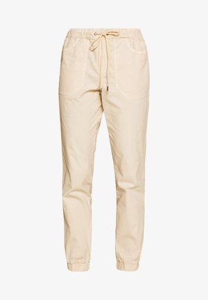 UTILITY TRACK PANTS - Trousers - sand beige