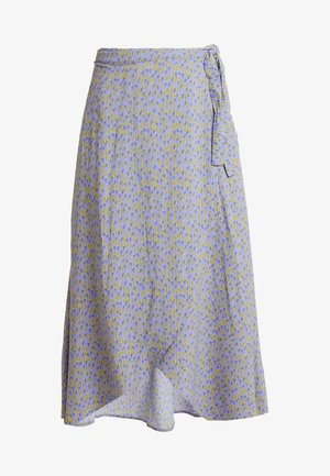 WRAPPED SKIRT - A-line skirt - lilac