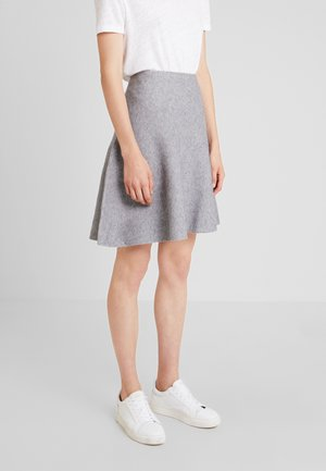 SKATER SKIRT - A-linjekjol - light silver grey