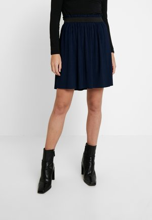 SKATER SKIRT - Spódnica mini - real navy blue