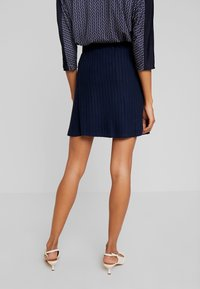 TOM TAILOR DENIM - SKATER SKIRT - A-line skjørt - real navy blue - 2