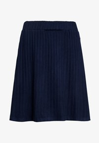 TOM TAILOR DENIM - SKATER SKIRT - A-line skjørt - real navy blue - 4