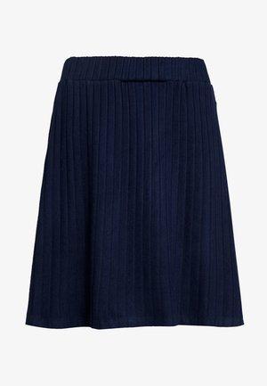 SKATER SKIRT - A-snit nederdel/ A-formede nederdele - real navy blue