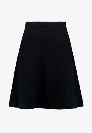 SKATER SKIRT - A-linjekjol - deep black