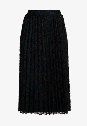 PLEATED SKIRT - Áčková sukně - deep black