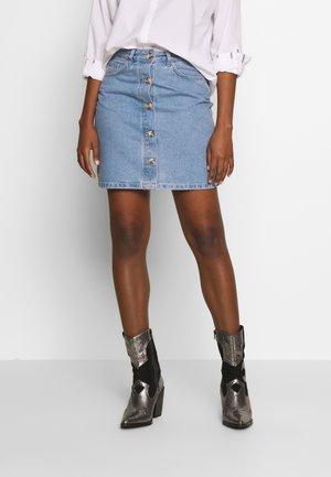 Mini skirts  - used mid stone blue denim