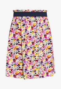 TOM TAILOR DENIM - MINI FLOWER SKIRT - A-line skjørt - multicolor - 3