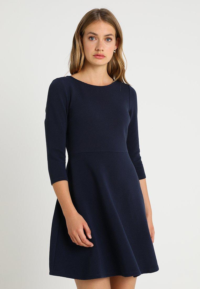 TOM TAILOR DENIM - SKATER DRESS - Jerseykleid - real navy blue