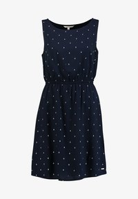 TOM TAILOR DENIM - EASY PRINT DRESS - Kjole - dark blue - 5