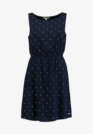 EASY PRINT DRESS - Denní šaty - dark blue