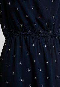 TOM TAILOR DENIM - EASY PRINT DRESS - Kjole - dark blue - 4