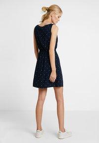 TOM TAILOR DENIM - EASY PRINT DRESS - Kjole - dark blue - 2