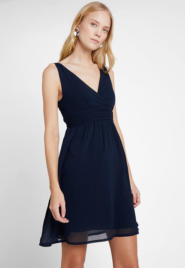 TOM TAILOR DENIM - MINI DRESS - Cocktailkleid/festliches Kleid - sky captain blue