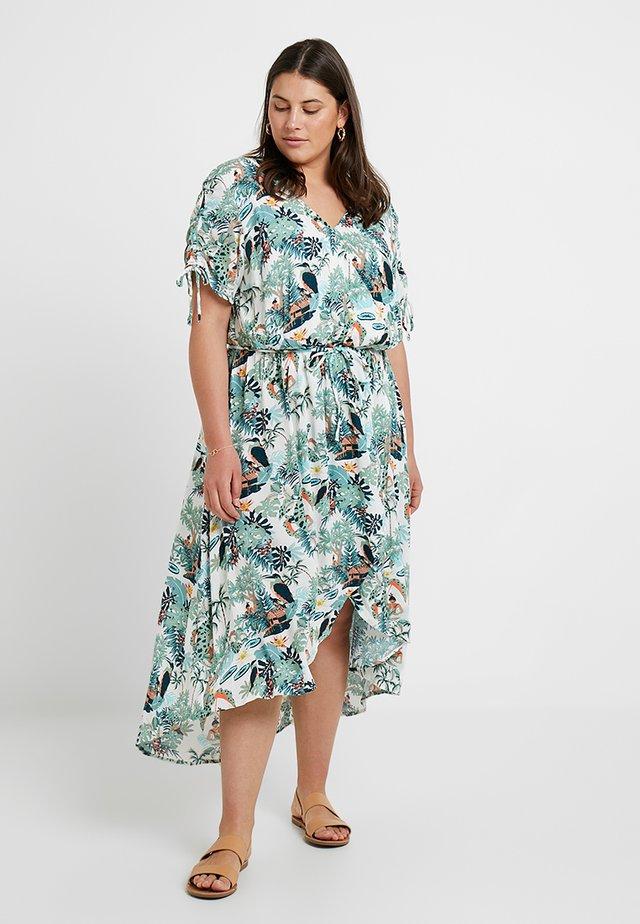 WRAP DRESS - Maxikleid - off white