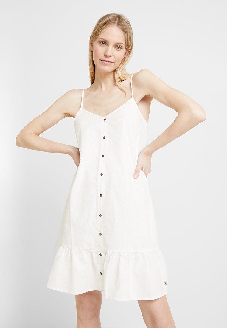 TOM TAILOR DENIM - Sukienka koszulowa - mleczny